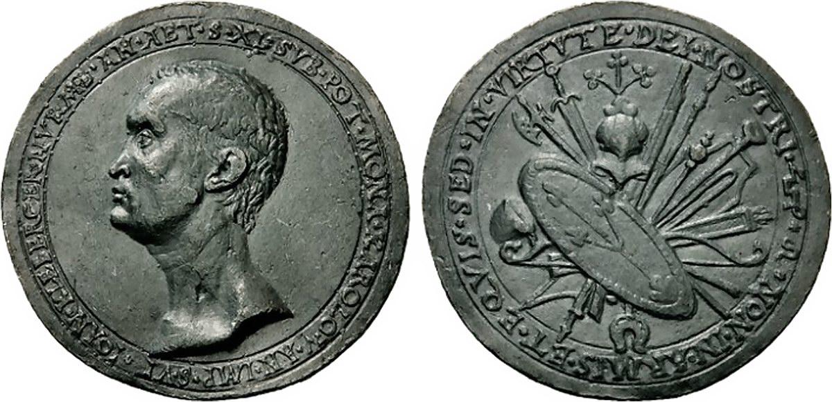 Medaille de KLeberger 1525-26 StadtAN E 17-II nr 1400
