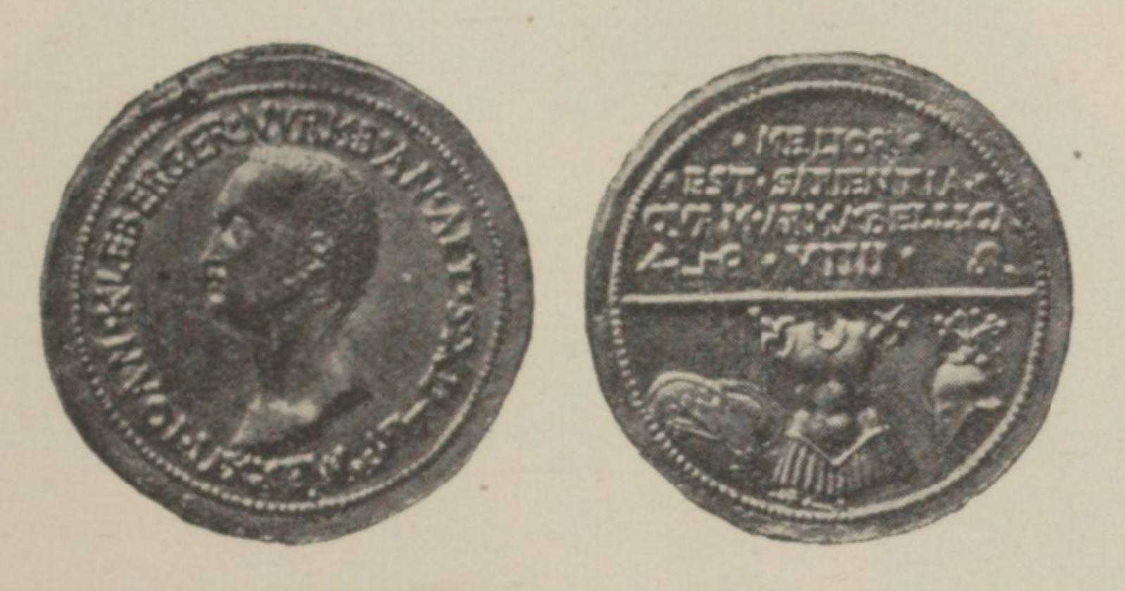 Medaille de Kleberger 1526 Vial p 137