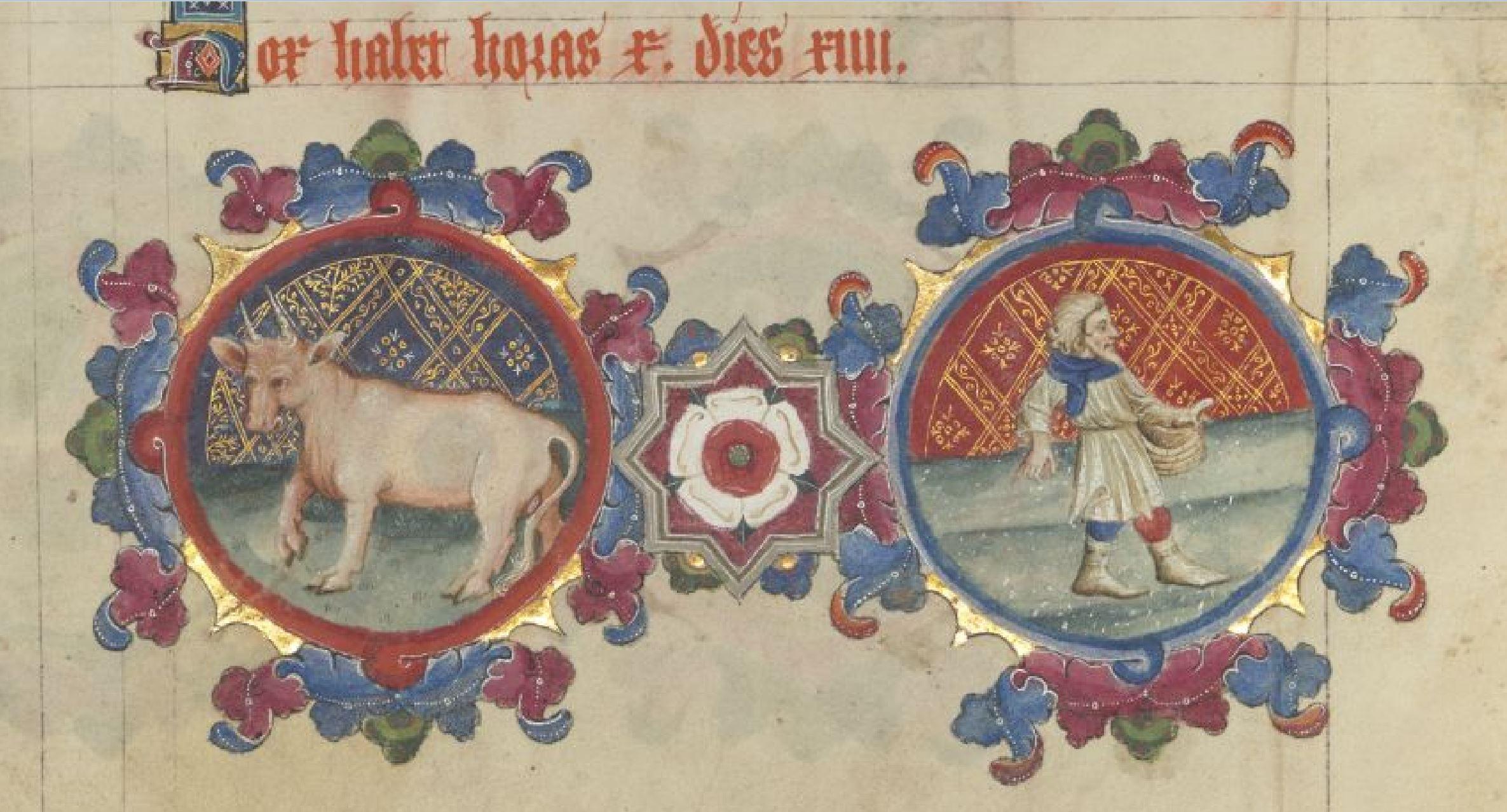 1399-1407 Sherborne Missal BL Add MS 74236 Avril p 4