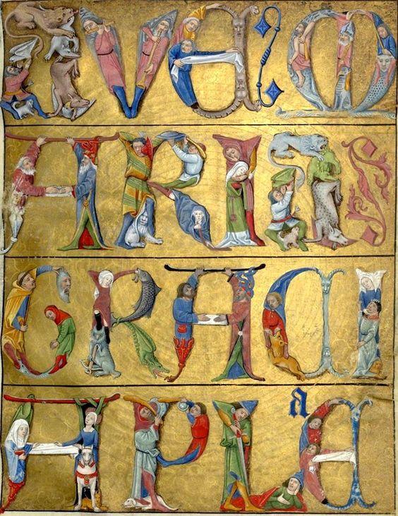 1475-1500 Heures de Charles d'Angouleme BNF Lat1173 fol 52r