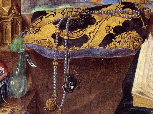1477 Maitre viennois de Marie de Bourgogne Heures de Marie de Bourgogne ONL Codex vindobonensis 1857 Folio 43V detail