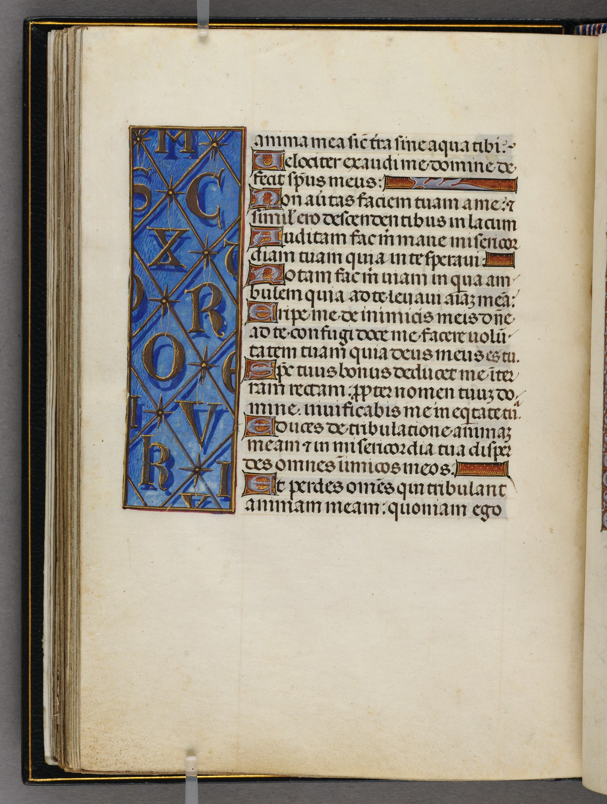 1480 ca Emerson-White Hours use of Rome Harvard University, Houghton Library, MSS Typ 443 fol 207v