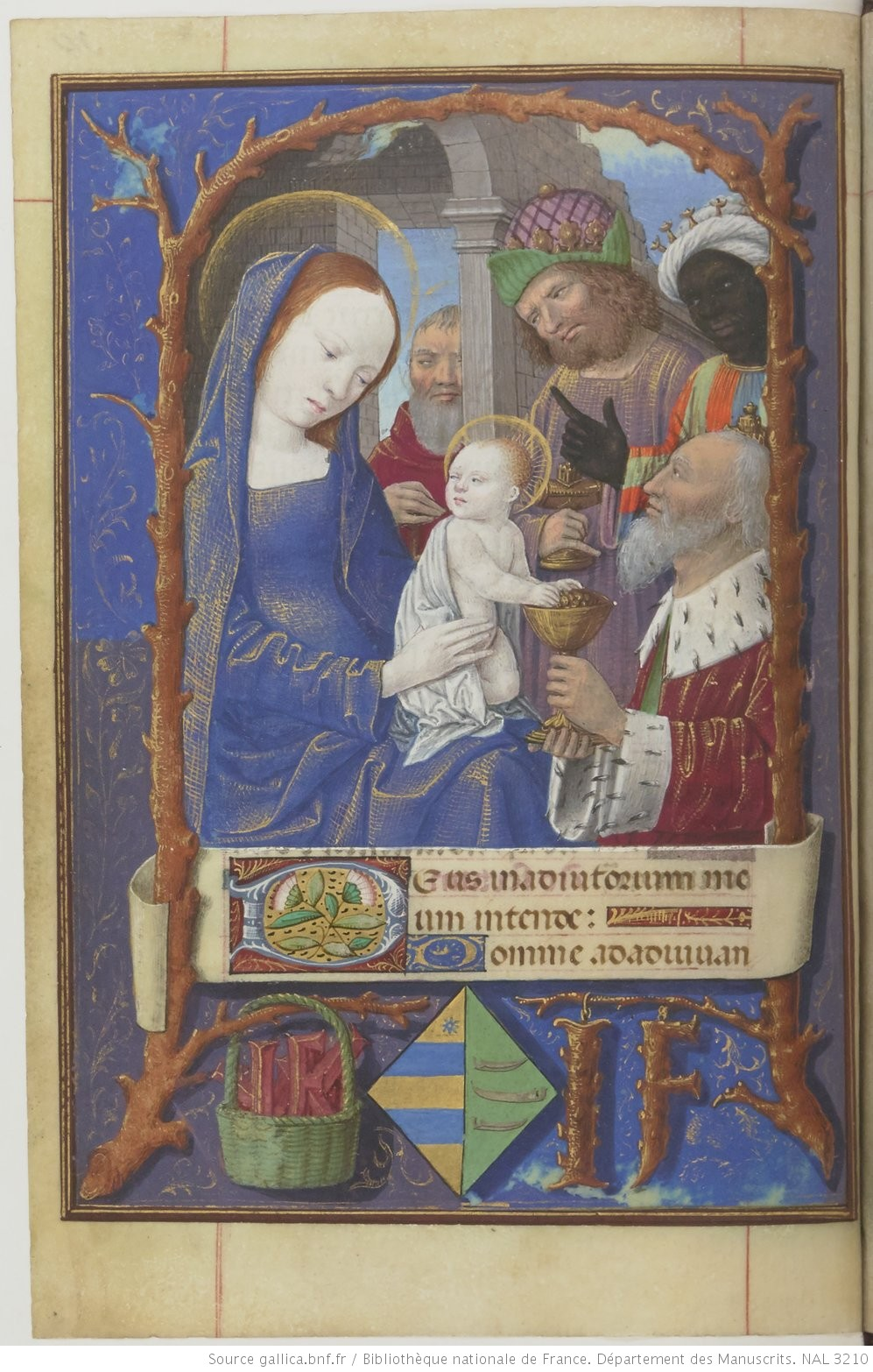 1483-1503 Horae ad usum Romanum NAL 3210 fol 34v