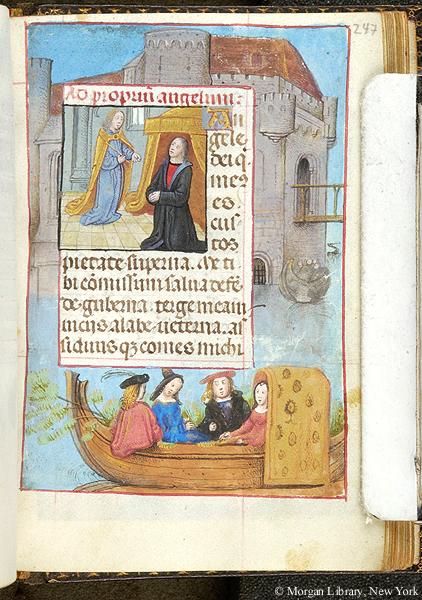1490 ca Book of Hours Belgium,Morgan MS S.7 fol. 247r