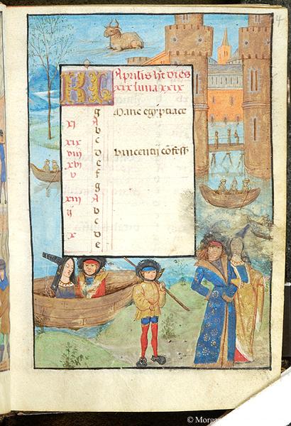 1488 ap Heures de Louis Quarre Bodleian Library MS. Douce 311 fol 30r