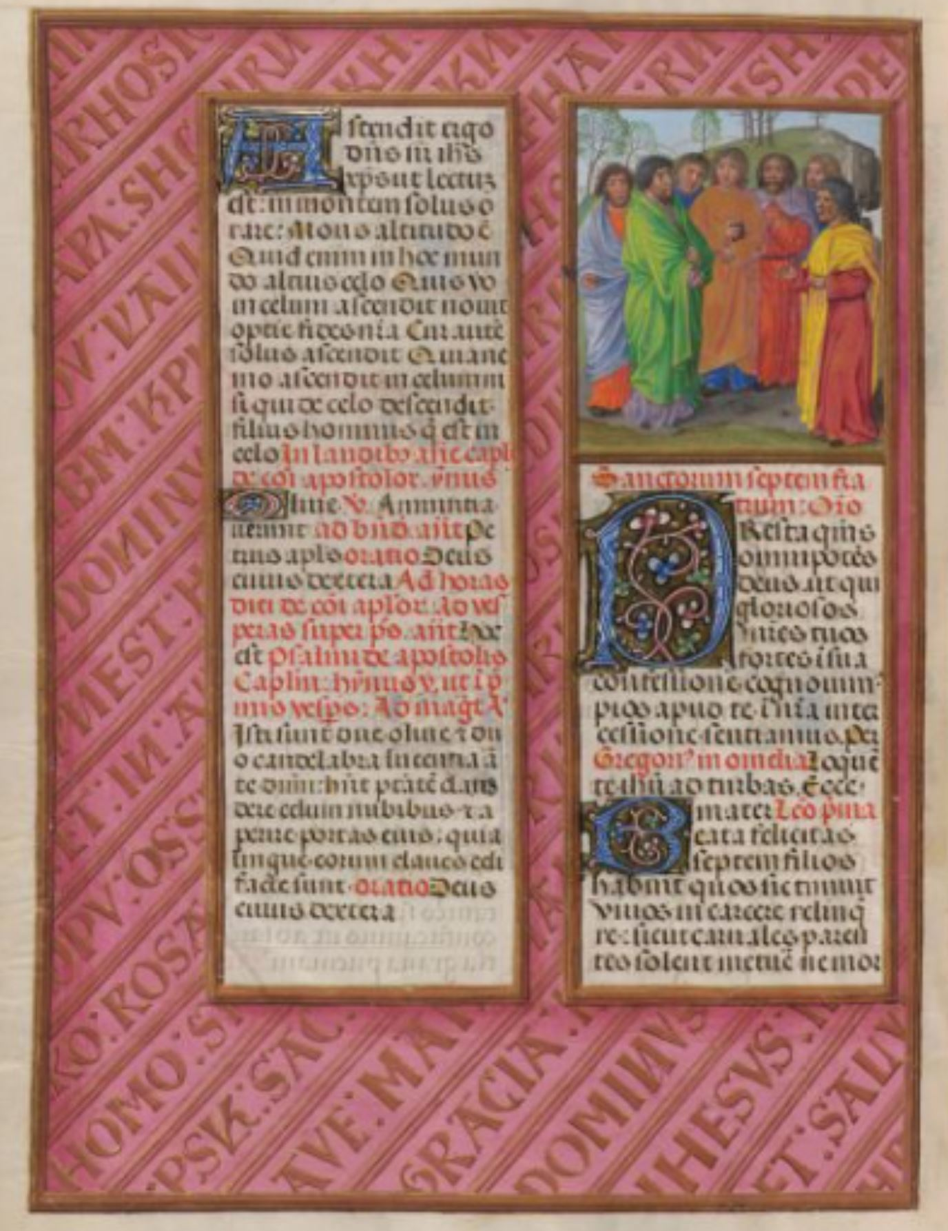 1497 ca Breviaire Isabelle la Catholique BL Add MS 18851 fol 404v The seven brothers