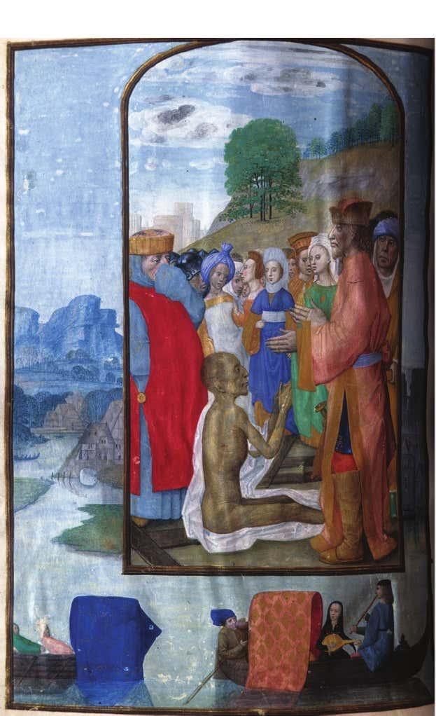 1500 ca Breviary Belgium, Bruges, ca. 1500 MS M.52 Invention de la Varie Croix fol 398v Morgan Library