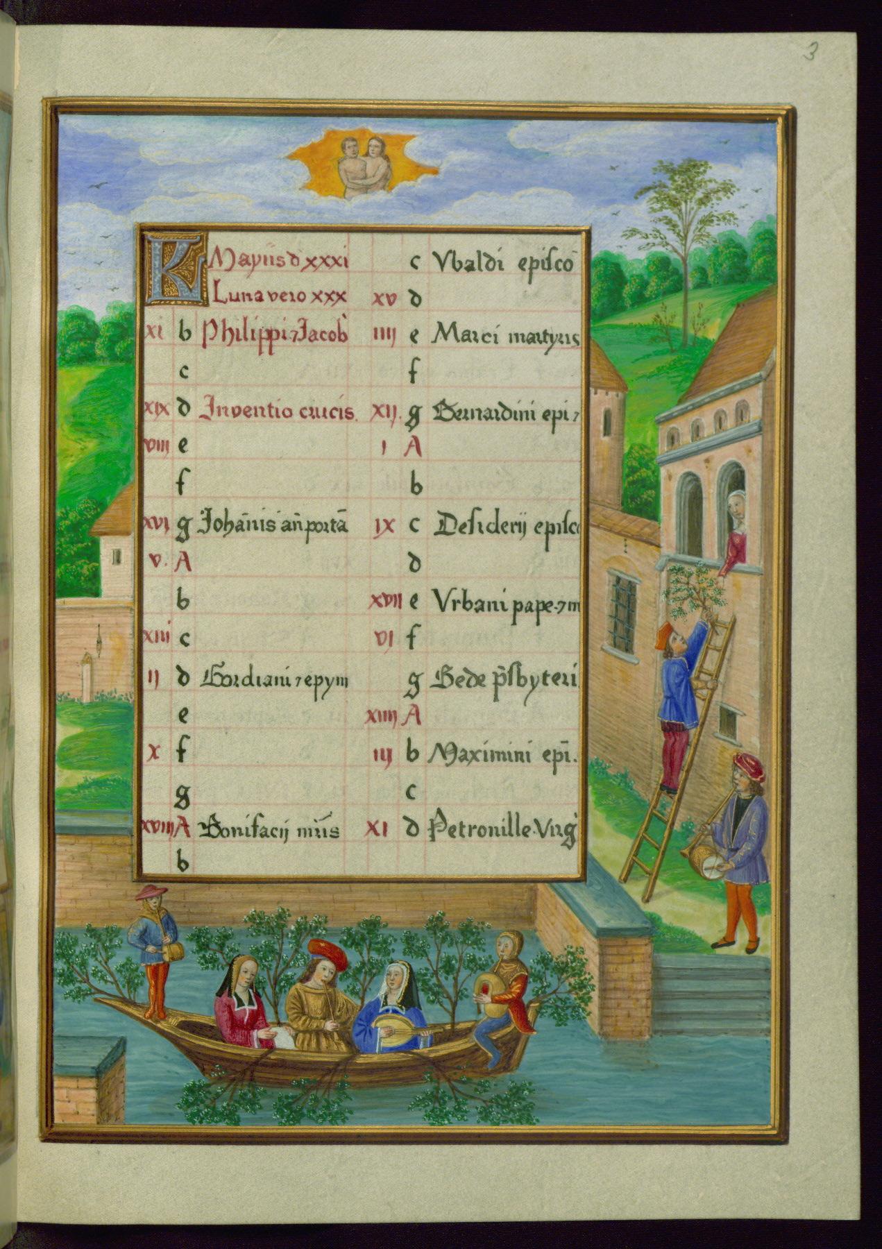 1500 ca Walters Manuscript W.441, fol. 3r