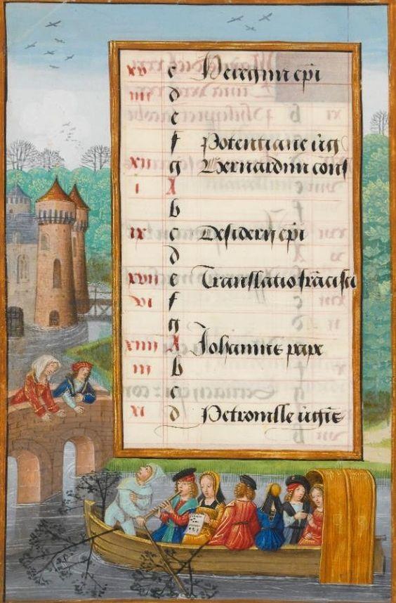 1500 ca ms 1058-1975 fol 5v fitzwilliam museum, cambridge Master of the Add 15677