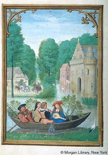 1515 ca Book of Hours Bruges, Morgan Library MS M.399 fol 6v