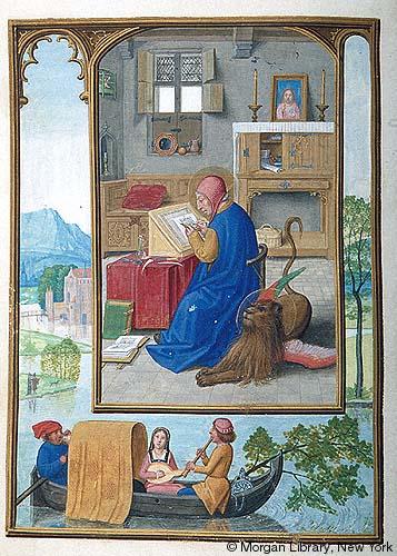 1515 ca Book of Hours Bruges, Morgan Library MS M.399 fol fol 119v