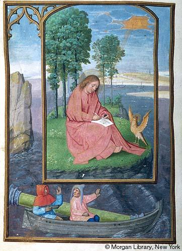 1515 ca Book of Hours Bruges, Morgan Library MS M.399 fol.111v