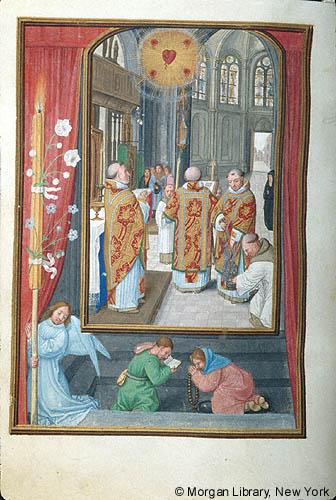 1515 ca Book of Hours Bruges, Morgan Library MS M.399 fol.36v
