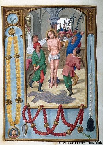 1515 ca Book of Hours Bruges, Morgan Library MS M.399 fol.44v