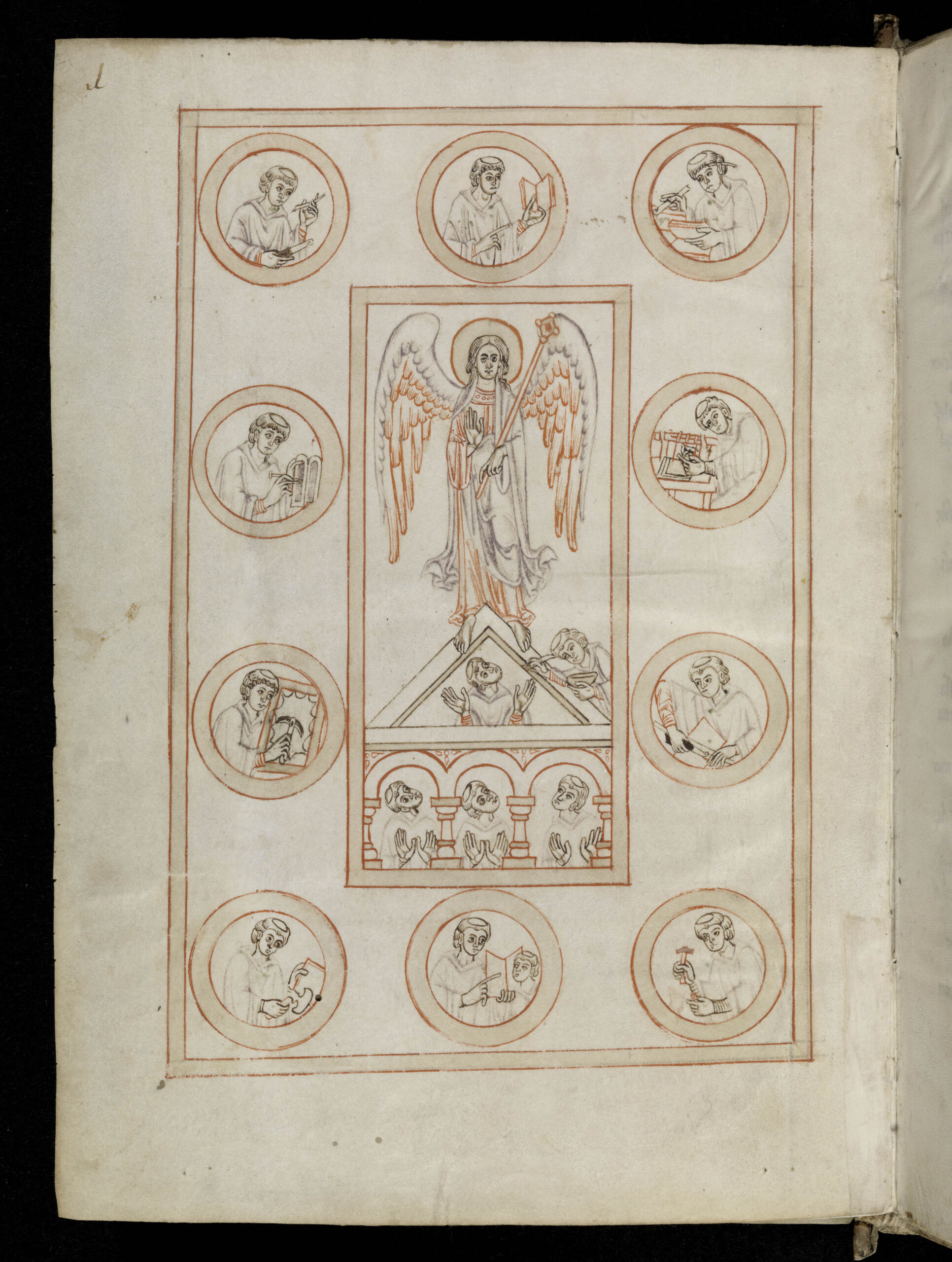 Bamberg, Staatsbibliothek, Ms. Patr. 5, fol. 1v