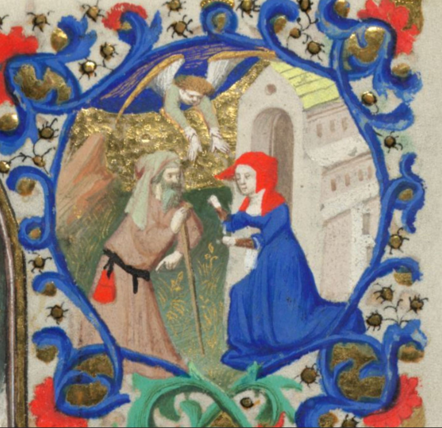 Bedford Hours 1410-30 Natvite_British_Library_Add_MS_18850_f 65r detail Salome