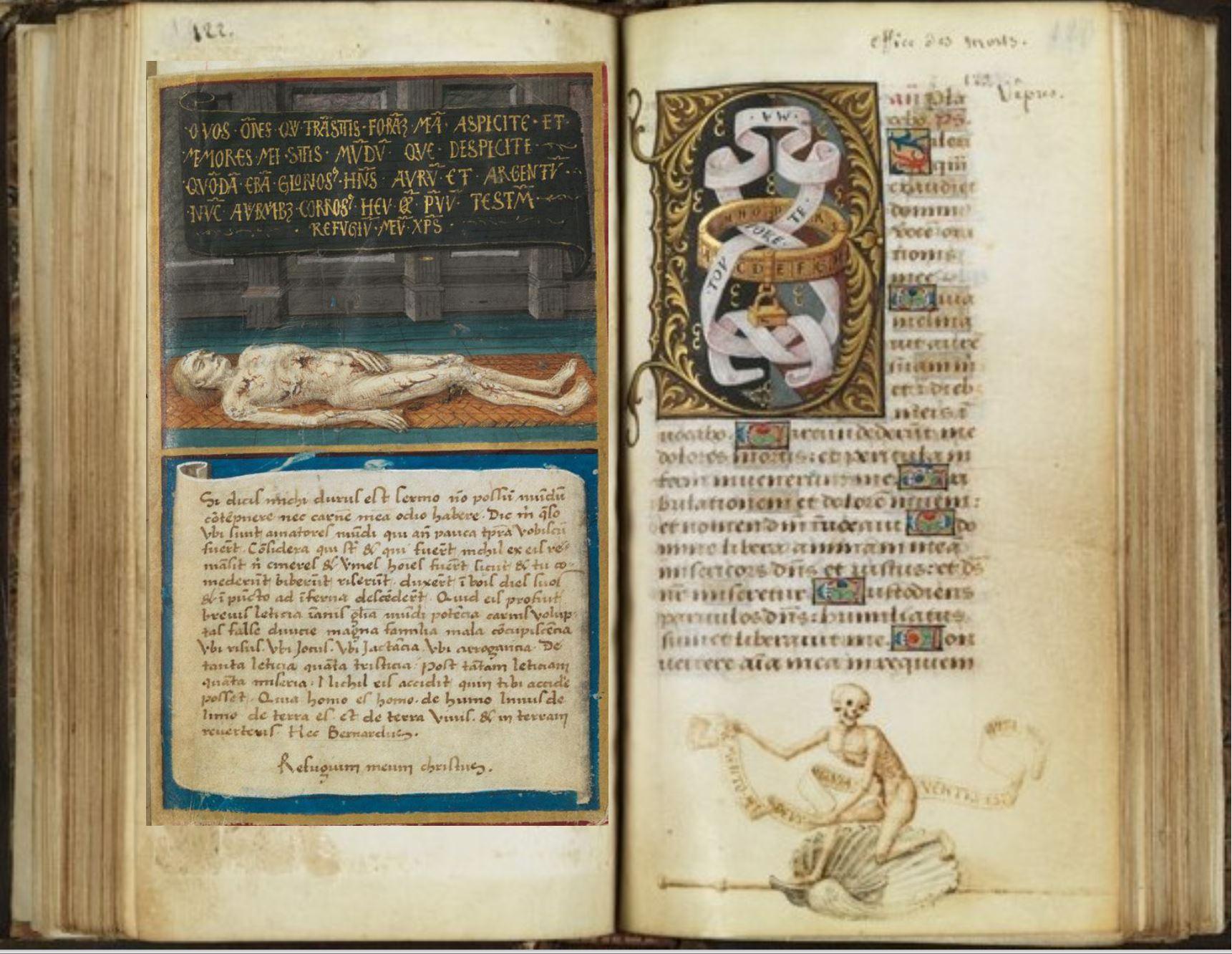otheque de l'Ecole des Beaux-Arts, Ms.Mas 0137 p 122-23