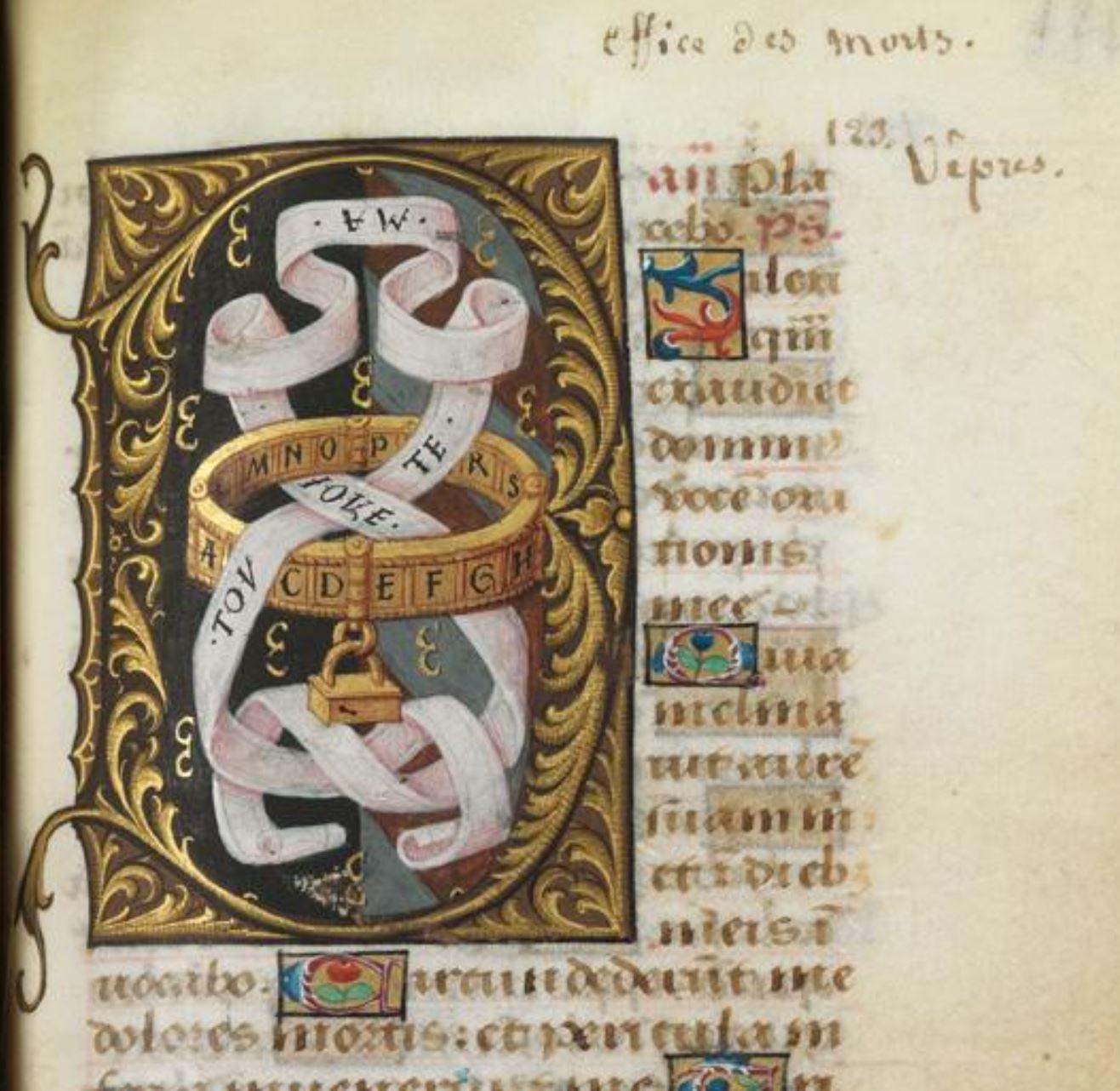 Bibliotheque de l'Ecole des Beaux-Arts, Ms.Mas 0137 p 123h