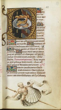 Bibliotheque de l'Ecole des Beaux-Arts, Ms.Mas 0137 p 13