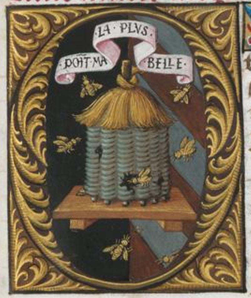 Bibliotheque de l'Ecole des Beaux-Arts, Ms.Mas 0137 p 219 detail