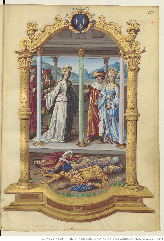 Boece Lallemant, 1498, Jean Lallement l'Aine, Lat. 6643 fol 227r