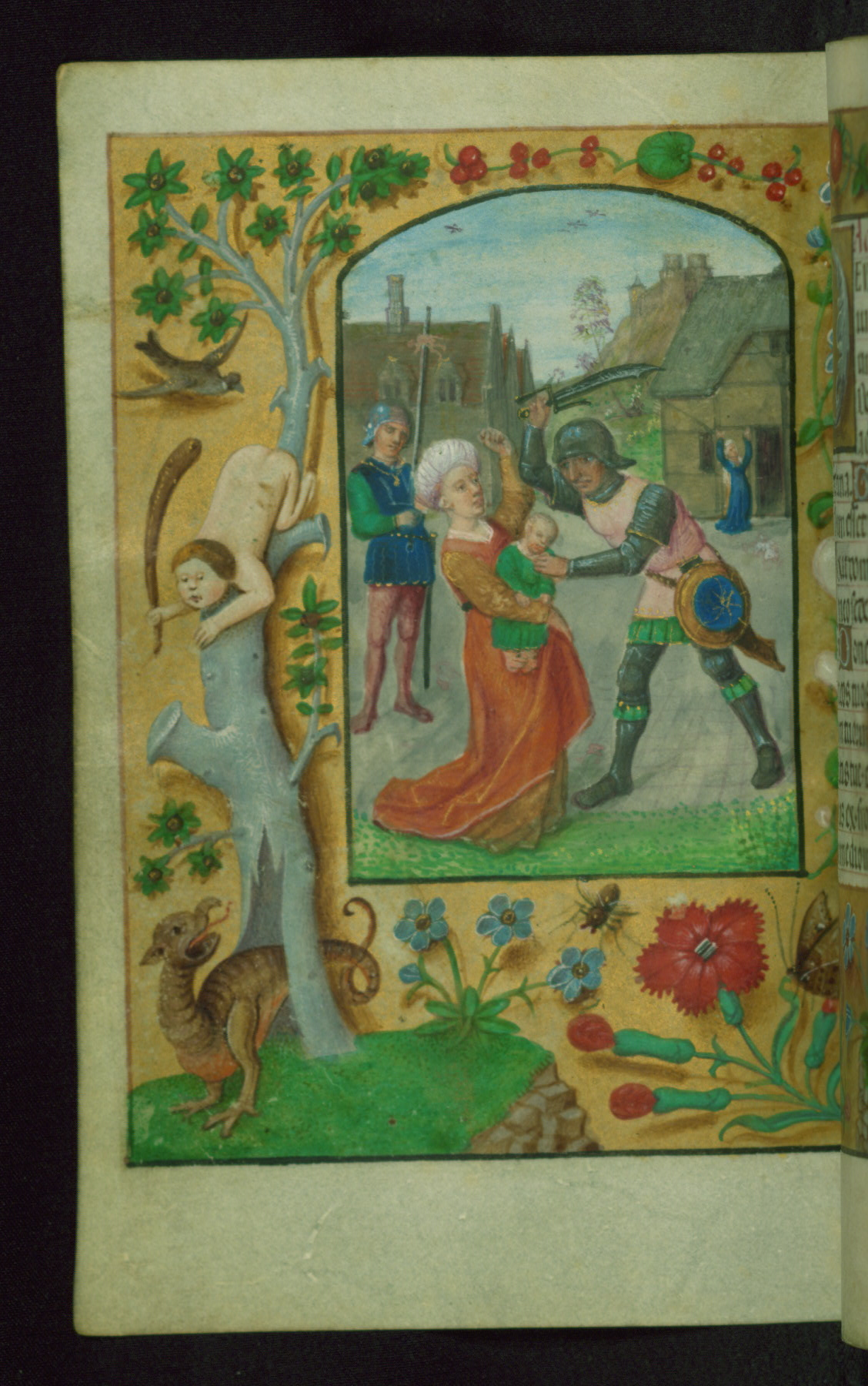 Book of Hours 1500 ca Ms. W.427 Walters Art Museum Baltimore fol. 106v Innocents