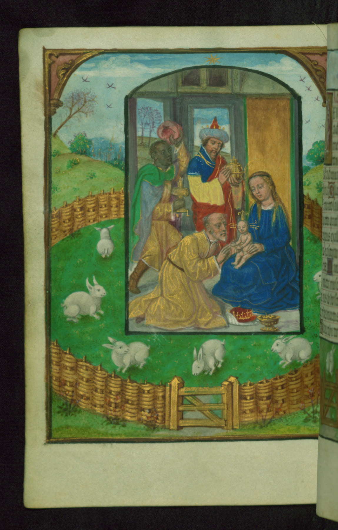 Book of Hours 1500 ca Ms. W.427 Walters Art Museum Baltimore fol. 95v Mages