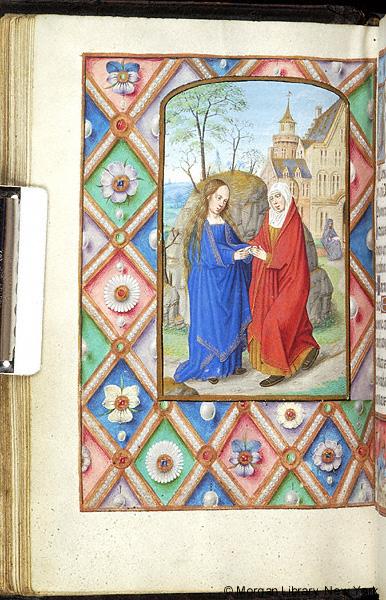 Book of Hours Belgium, Bruges, ca. 1500 Morgan MS M.390 fol. 44v
