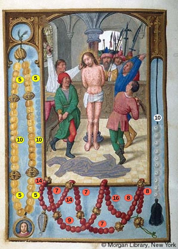 Book of Hours Belgium, Bruges, ca. 1515 Morgan MS M.399 fol. 44v schema