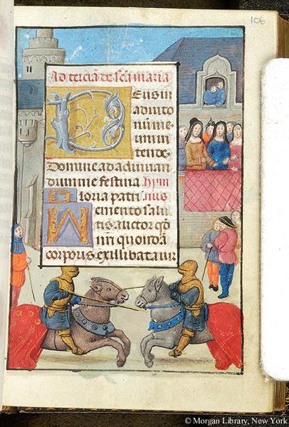Book of Hours Belgium, ca. 1490 Morgan MS S.7 fol. 106r