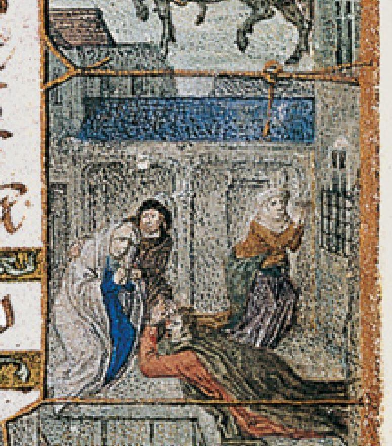 1515 ca Book of Hours Bruges, Morgan Library MS M.399 fol.197v