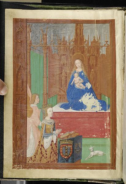 Breviary Belgium, Bruges, ca. 1500 MS M.52 fol. 1v Morgan Library Eleonore du Portugal