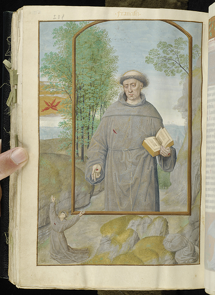 Breviary Belgium, Bruges, ca. 1500 MS M.52 fol. 517v Morgan Library detail