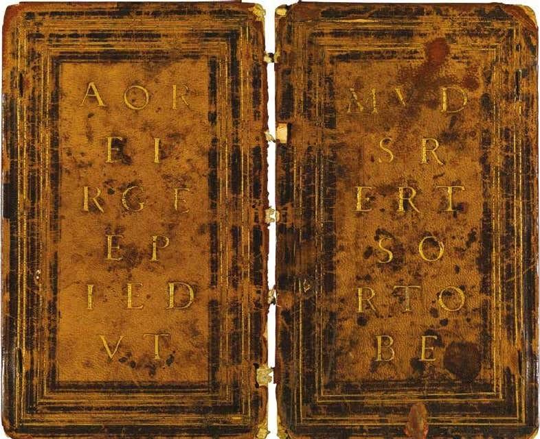 Heures d'Etienne Lallemant, avant 1498, Paris, Ecole nationale superieure des Beaux-arts,Ms. Mas 137 reliure