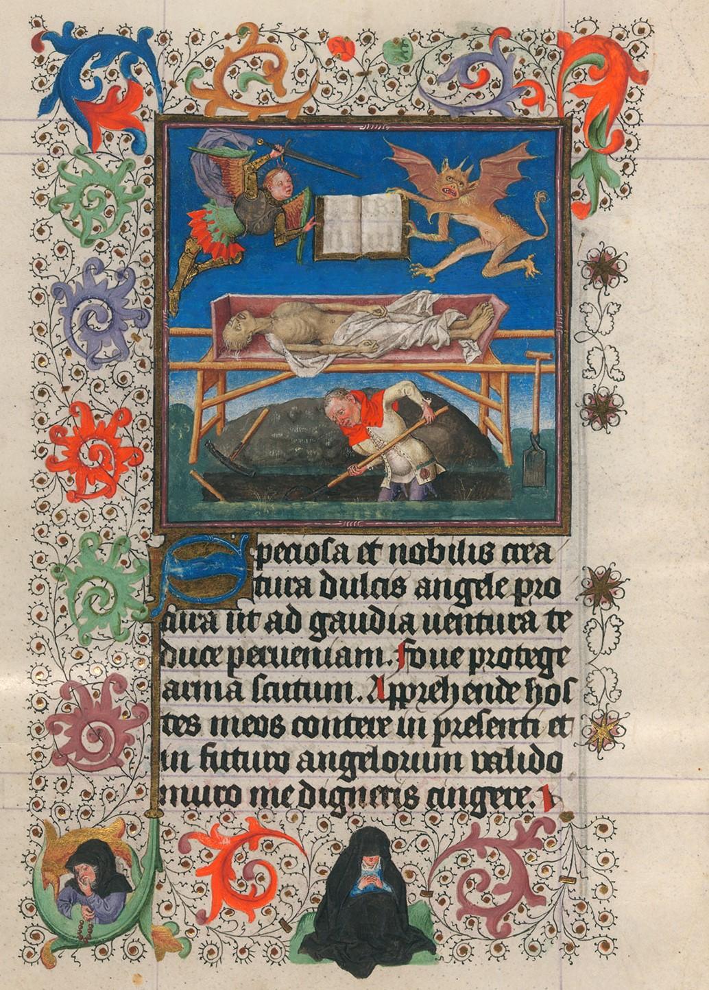 Heures de Catherine de Cleves ca. 1440 Morgan MS M.917-945, pp. 206
