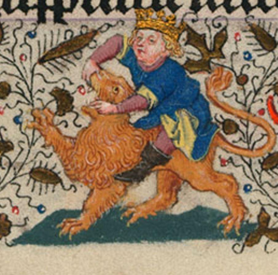 Heures de Catherine de Cleves ca. 1440 Morgan MS M.917-945, pp. 213 St Paul
