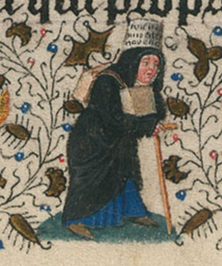 Heures de Catherine de Cleves ca. 1440 Morgan MS M.917-945, pp. 221 Saint Thomas