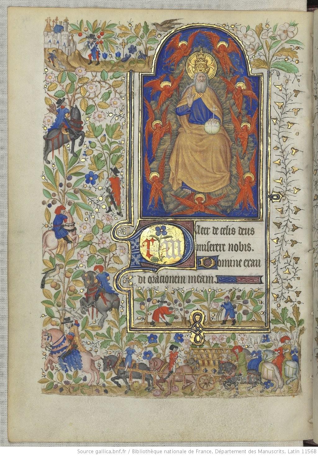 Heures de Marguerite d'Orleans 1430 ca BNF Latin 1156B fol 158v Gallica