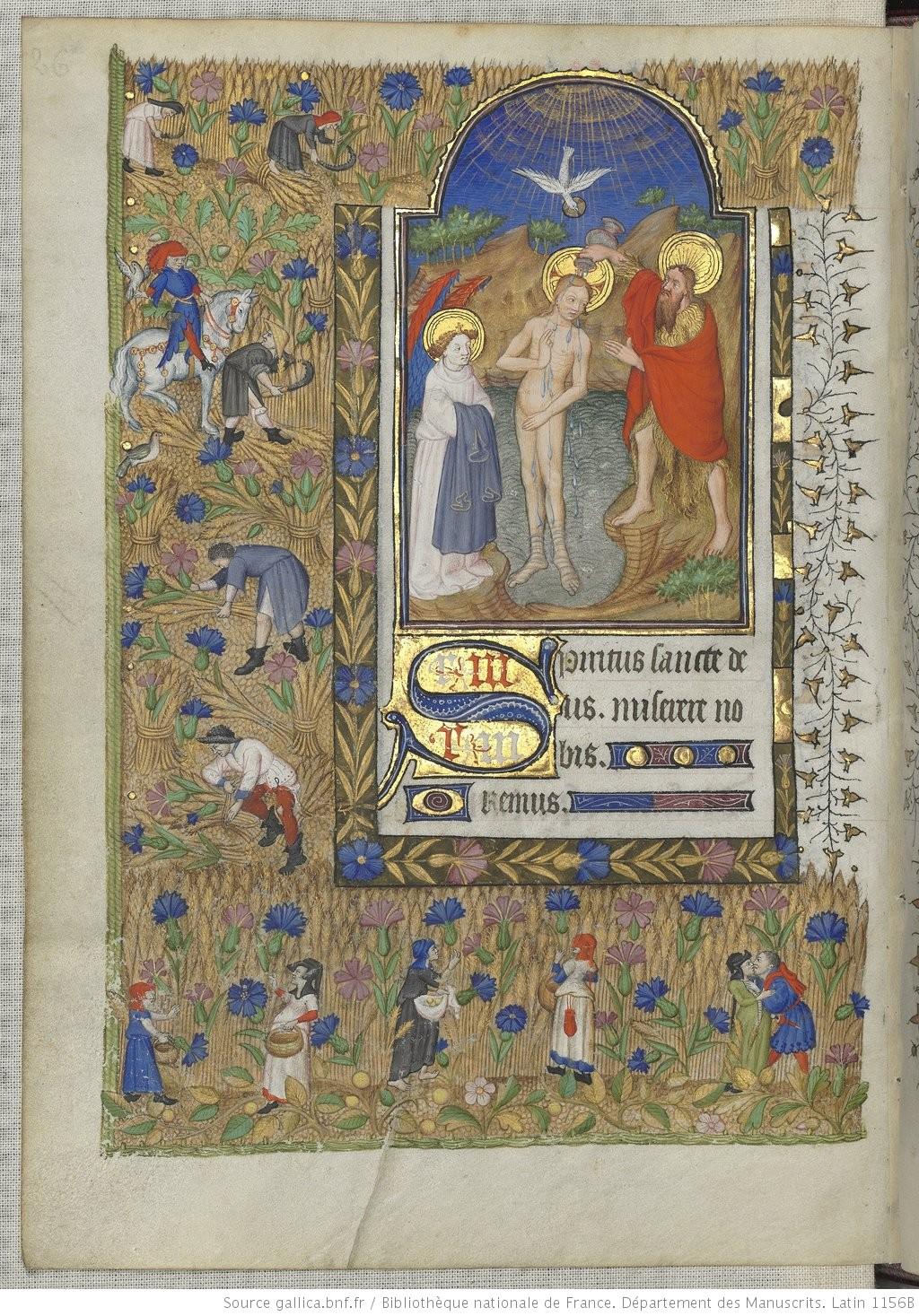 Heures de Marguerite d'Orleans 1430 ca BNF Latin 1156B fol 161v Gallica