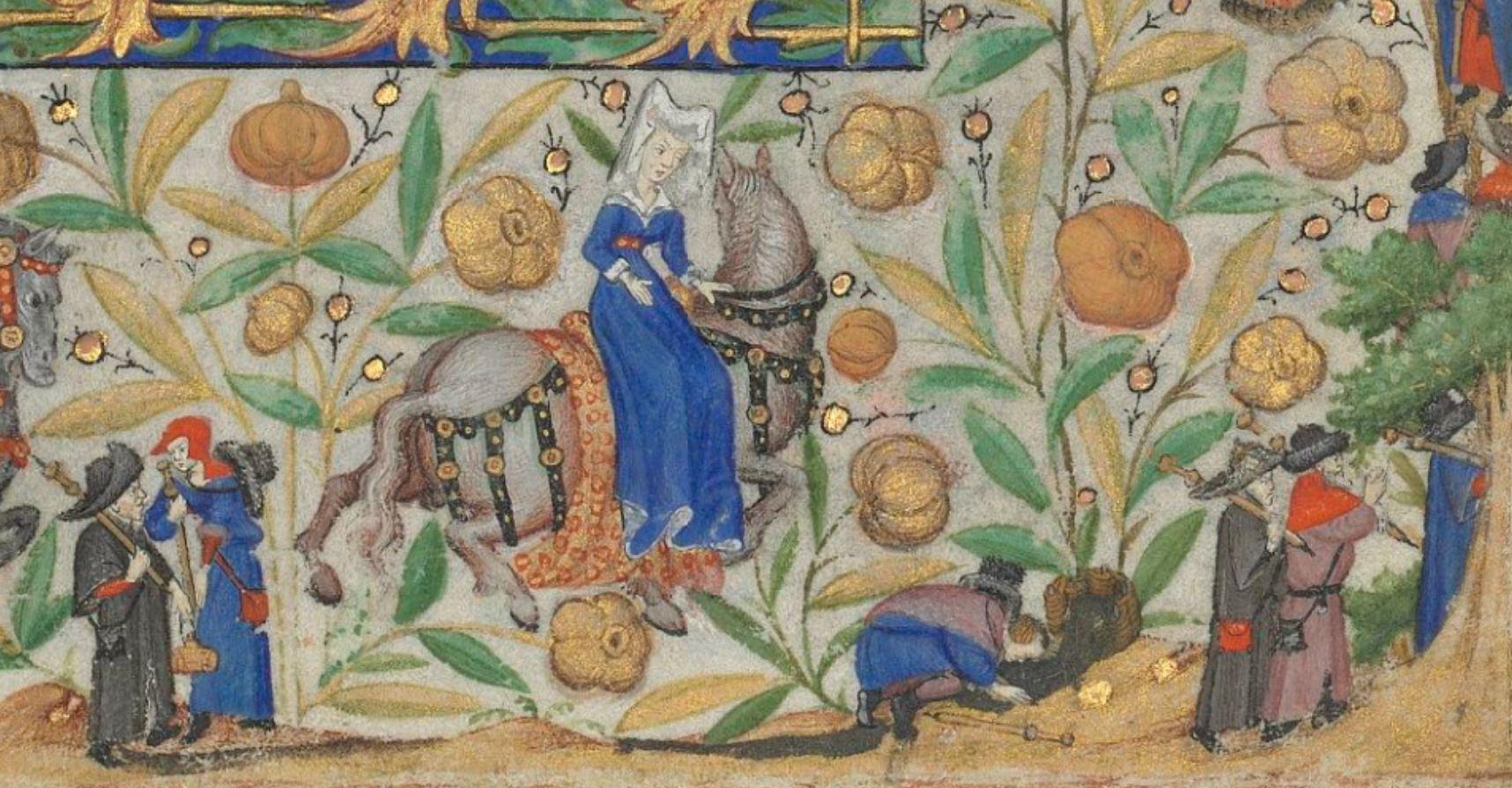 Heures de Marguerite d'Orleans 1430 ca BNF Latin 1156B fol 25r Gallica detail