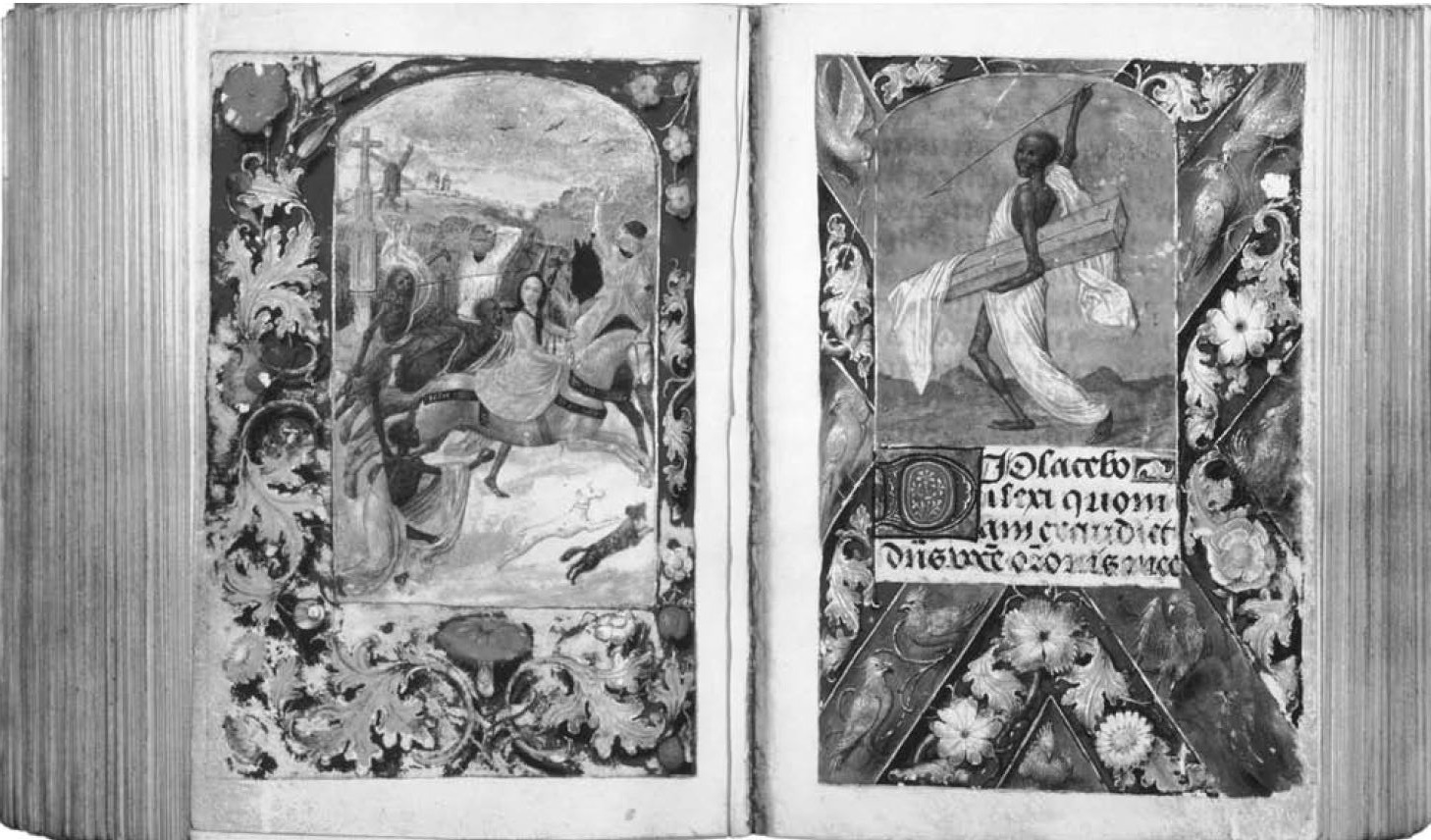 Heures de Marie de Bourgogne et Maximilien I, Berlin Kupferstichkabinett, vers 1482, SMPK MS 78B12, fol 220v-221r