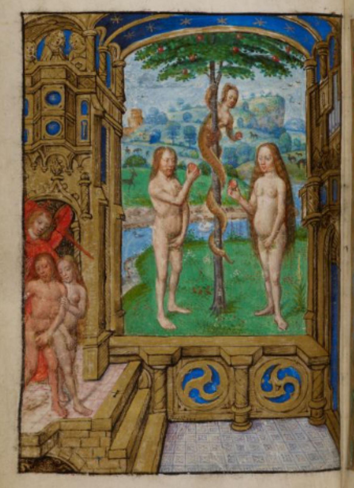 Heures de Marie de Castille 1486-1506BL Add MS 18852 fol 14v
