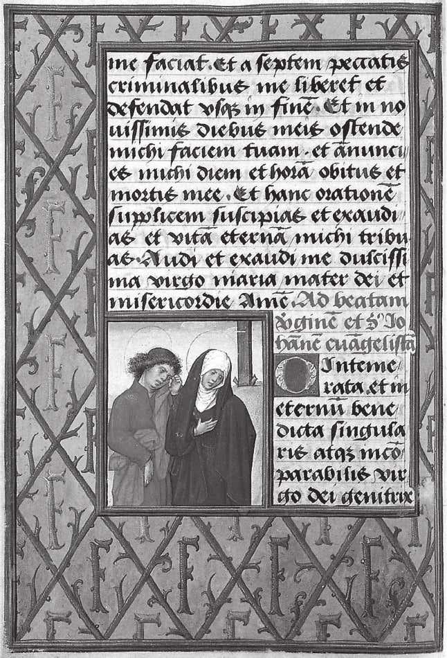 Heures de l'archiduc Ferdinand, 1520 ca Osterreichische Nationalbibliothek, Cod.Series Nova 2624, fol. 72v