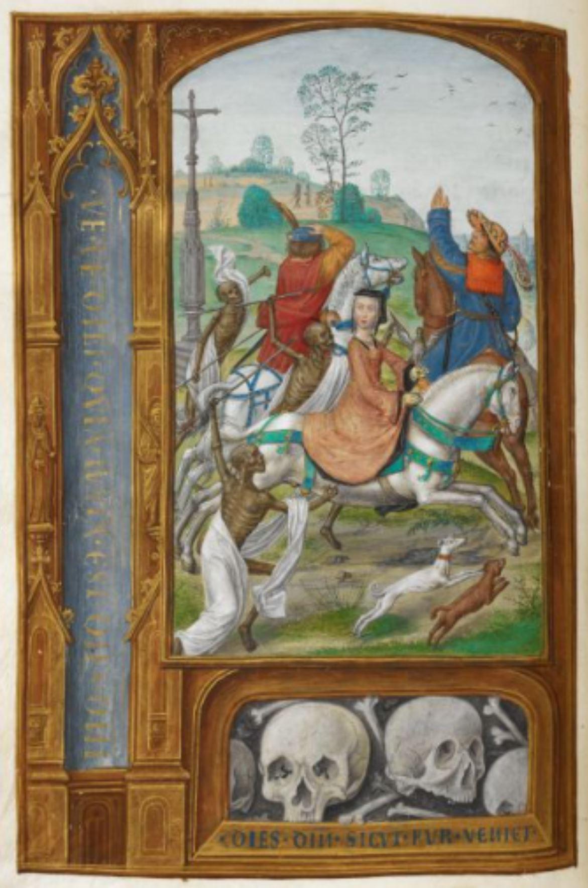 Hours of Joanna I of Castille 1500 ca BL Add MS 35313 fol 158v