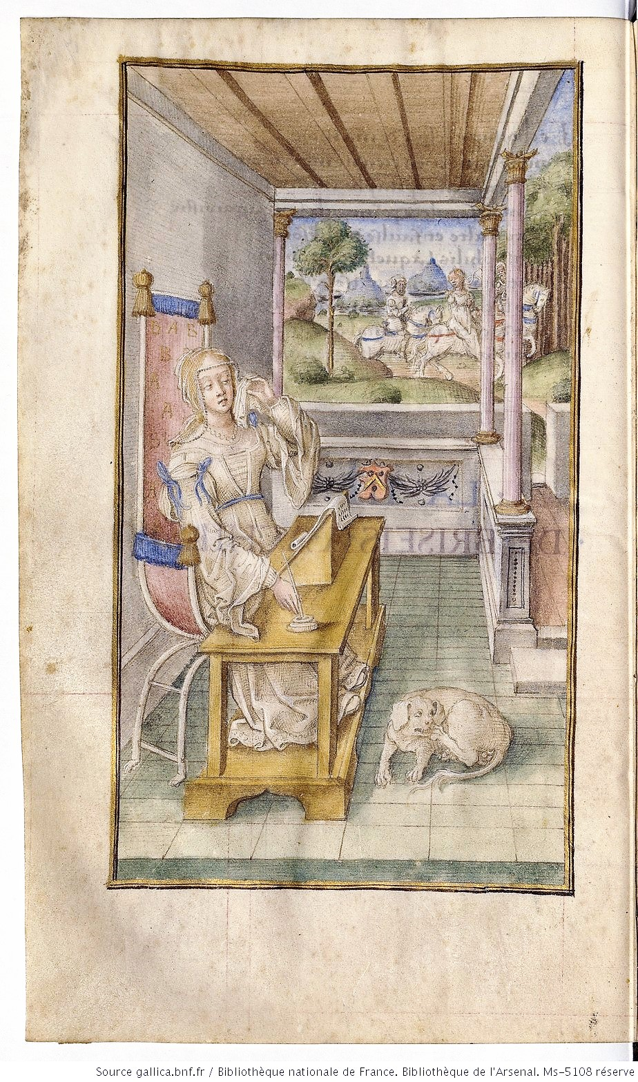 Les Heroides d'Ovide 1498 ca BNF Ms-5108 reserve