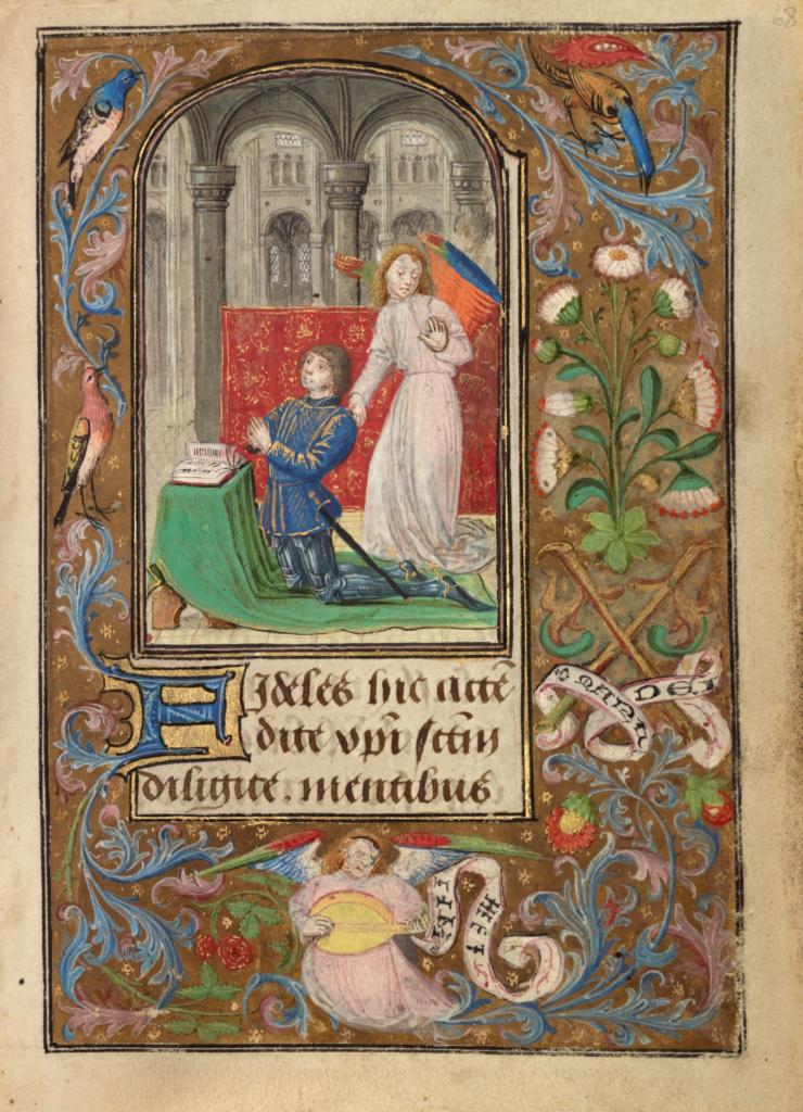 Lieven van Lathem 1471 ca Charles le temeraire Getty Museum, Los Angeles, Ms. 37, fol 68