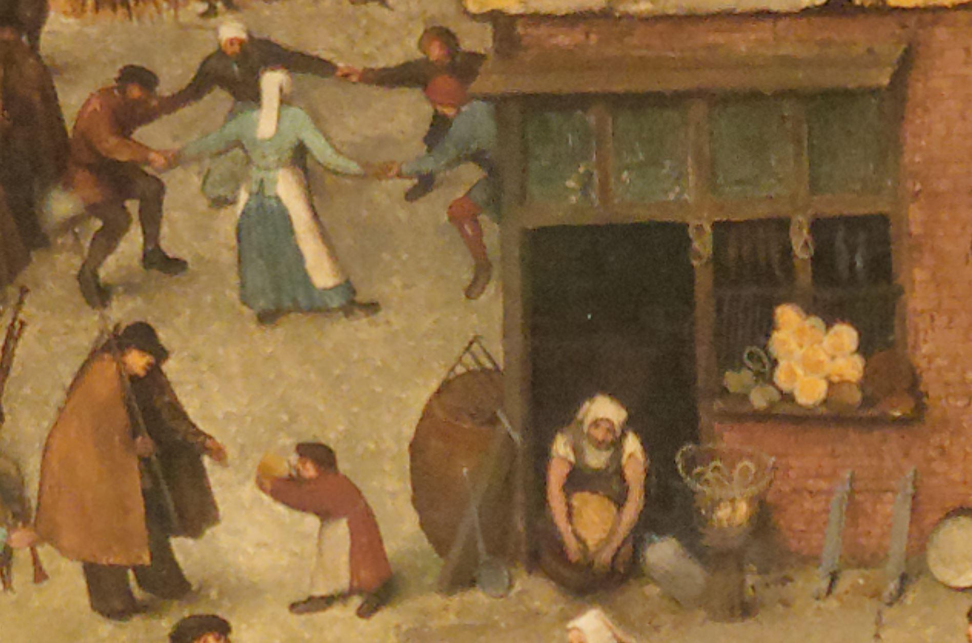 Pieter_II_Brueghel_Combat_de_Carnaval_et_Careme_detail
