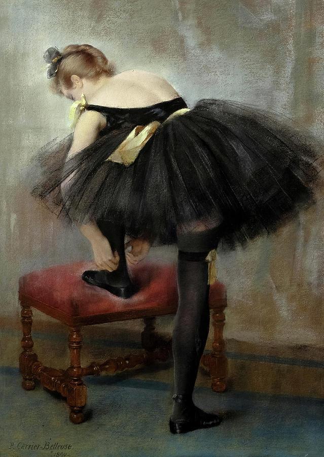 Pierre Carrier-Belleuse 1890 The Dancer