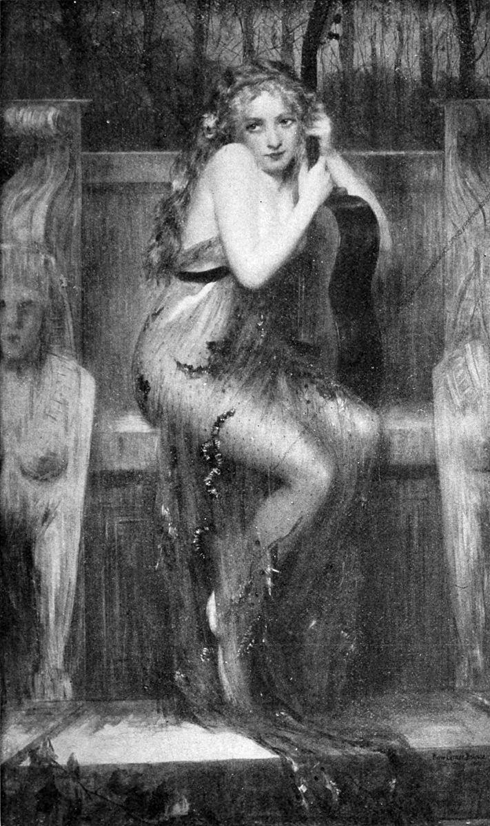 Pierre Carrier-Belleuse 1908 La_Cigale
