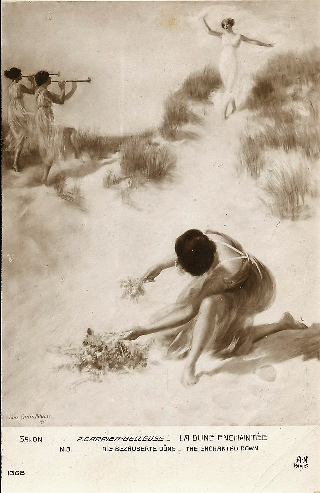 Pierre Carrier-Belleuse 1912 La dune enchantee